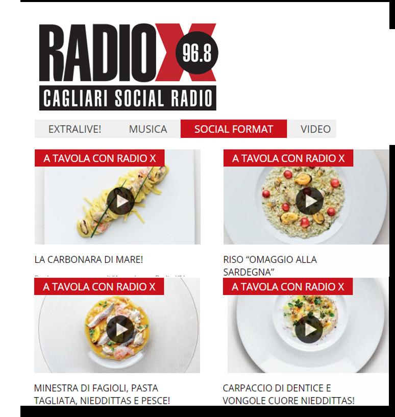 A tavola con radiox i prodotti nieddittas e lo chef - A tavola con lo chef ...