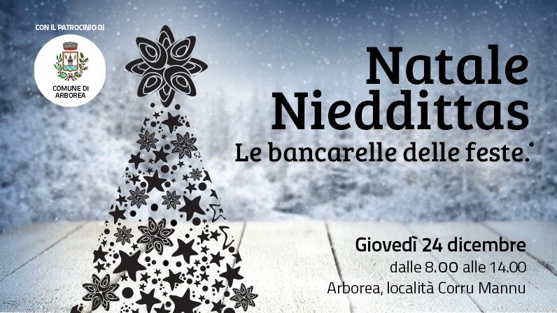 Natale Nieddittas: vieni a trovarci la vigilia!