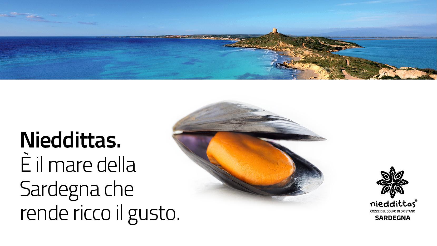 La pubblicità Nieddittas arriva in tutta Italia.