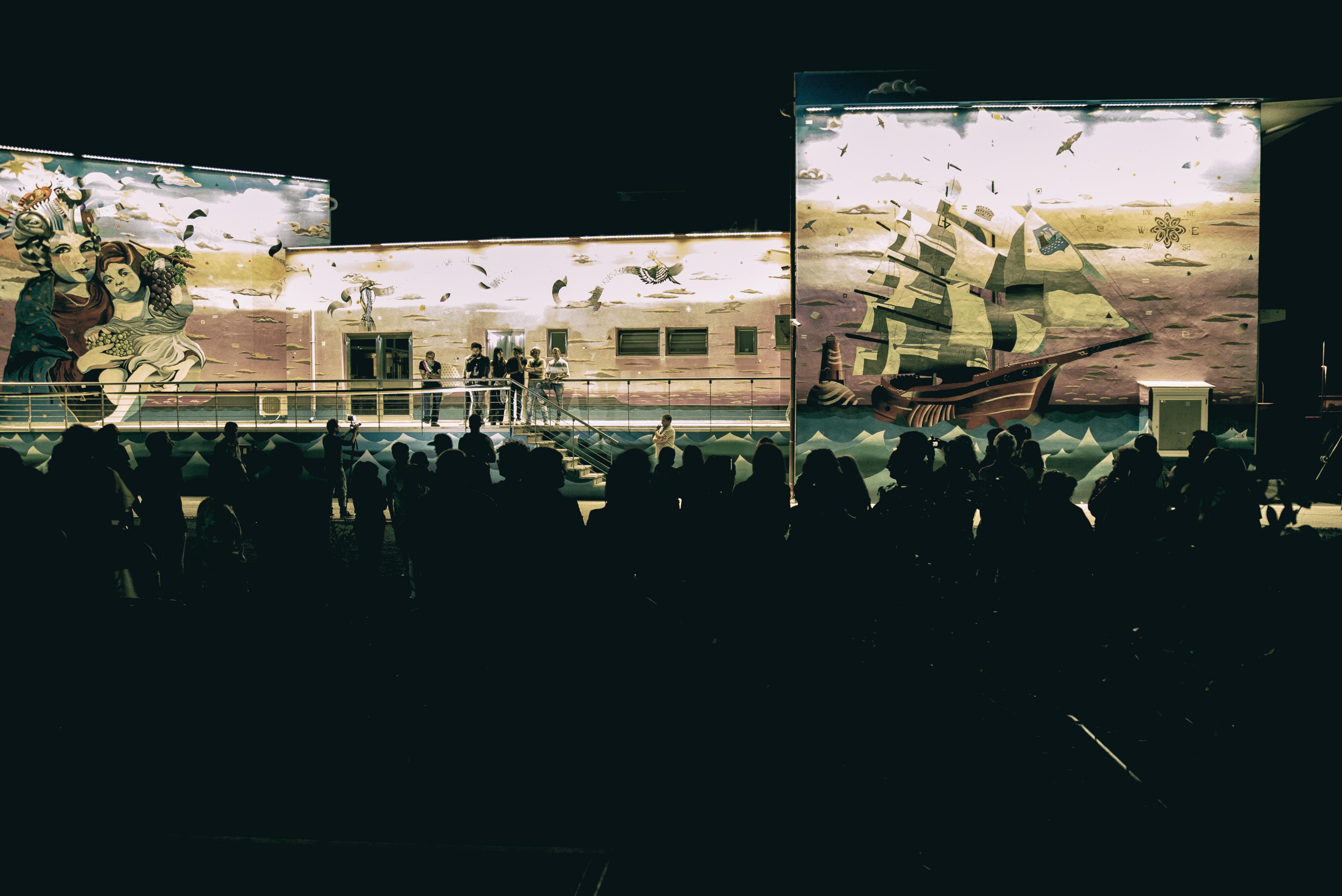 inaugurazione murales