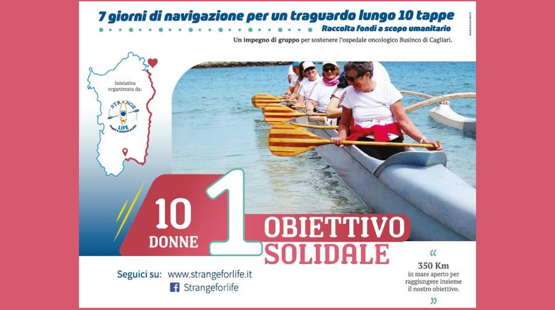 10 donne 1 obiettivo solidale: Nieddittas tra gli sponsor per sostenere l'iniziativa.