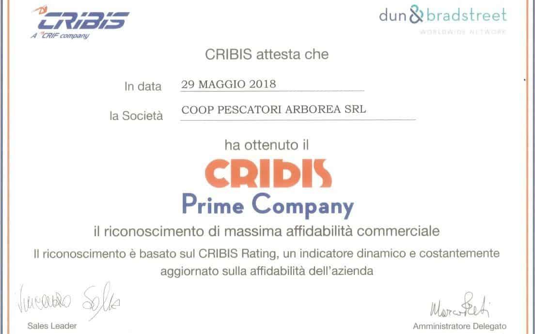 Nieddittas si riconferma CRIBIS PRIME COMPANY anche per il 2018.