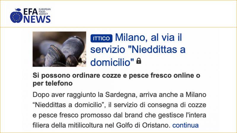 """Milano, al via il servizio """"Nieddittas a domicilio"""""""