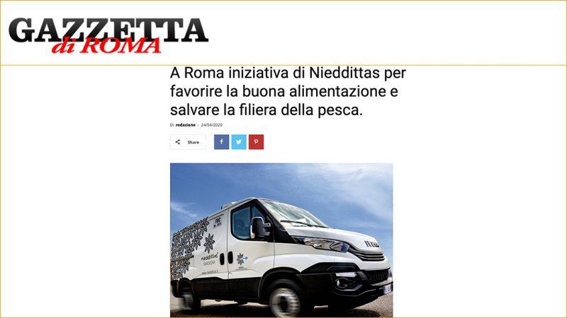 A Roma iniziativa di Nieddittas per favorire la buona alimentazione e salvare la filiera della pesca.