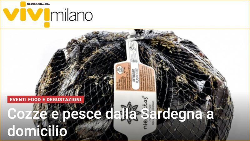 Cozze e pesce dalla Sardegna a domicilio