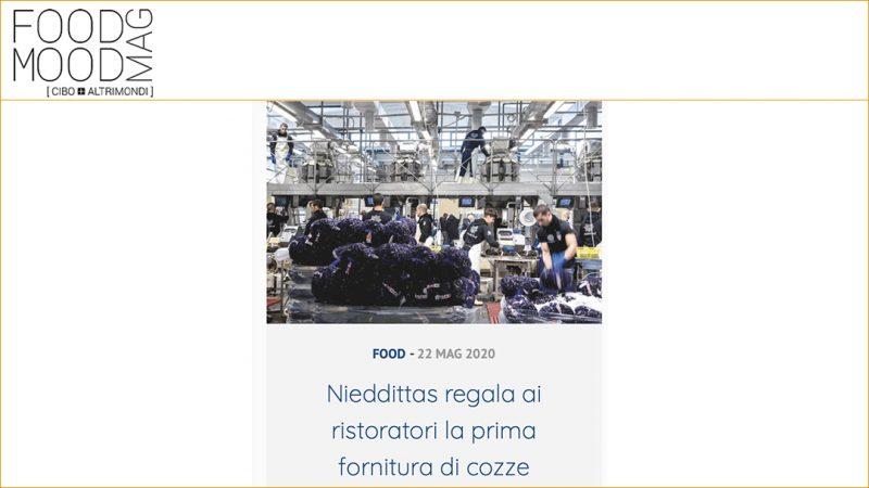 NIEDDITTAS REGALA AI RISTORATORI LA PRIMA FORNITURA DI COZZE
