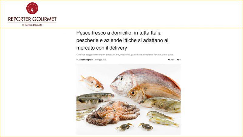 Pesce fresco a domicilio: in tutta Italia pescherie e aziende ittiche si adattano al mercato con il delivery