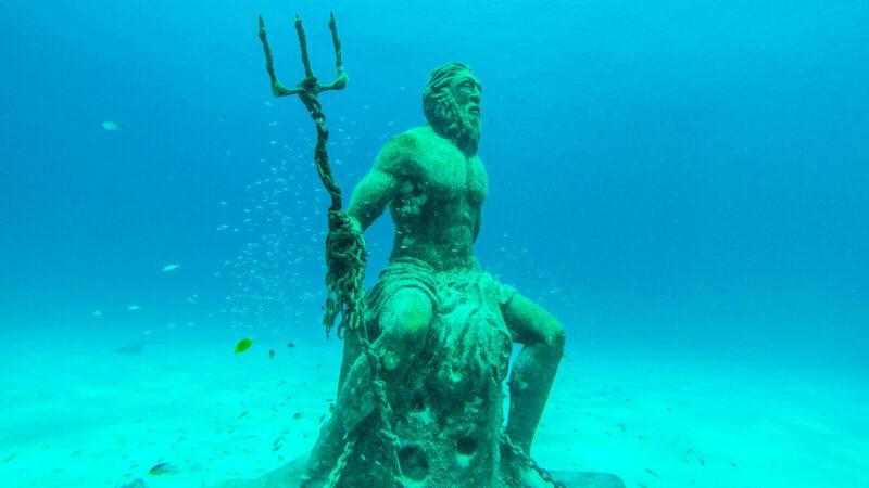 Come si chiama il dio del mare?