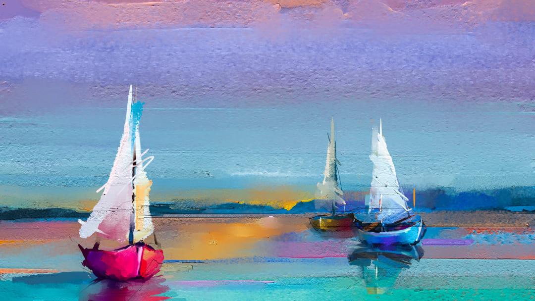 7 quadri con mare più famosi