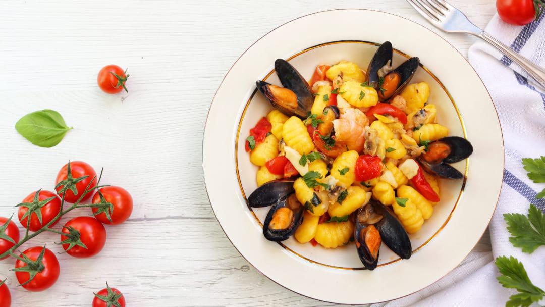 Ricetta gnocchi ai frutti di mare