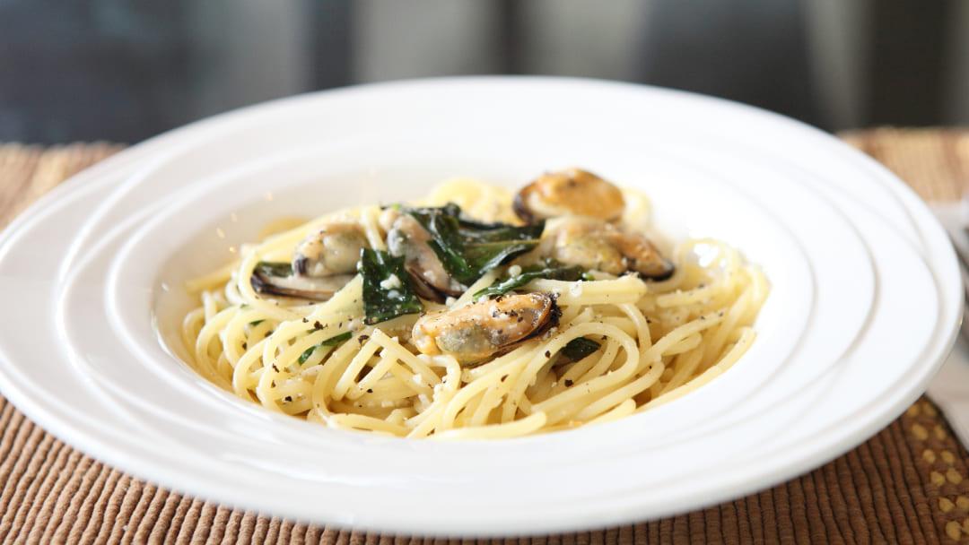 Ricetta pasta cozze e zucchine
